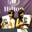AKB48岩佐美咲&鈴木まりや、グアムでチャリティイベント