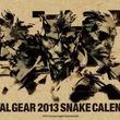 """ヘビ年には""""スネーク""""が似合う!?""""メタルギア 2013 スネーク カレンダー""""が12月17日に発売"""