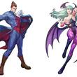対戦格闘ゲーム「ヴァンパイア リザレクション」デミトリ&モリガン、ビジュアル公開