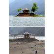 河口湖で異常な水位低下。原因は富士山の火山活動?
