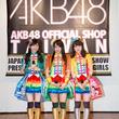 SKE48 石田安奈・大矢真那・木崎ゆりあがAKB48 Official Shop Taiwanを初訪問!