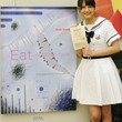 乃木坂46若月、食物連鎖テーマに「二科展」2年連続入選