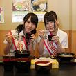 AKB48佐々木優佳里&高橋朱里 番組最年少コンビがうどん県丸亀市の観光大使に