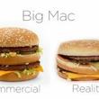 マクドナルド「CM商品 VS 実際商品」比較動画が公開され話題に