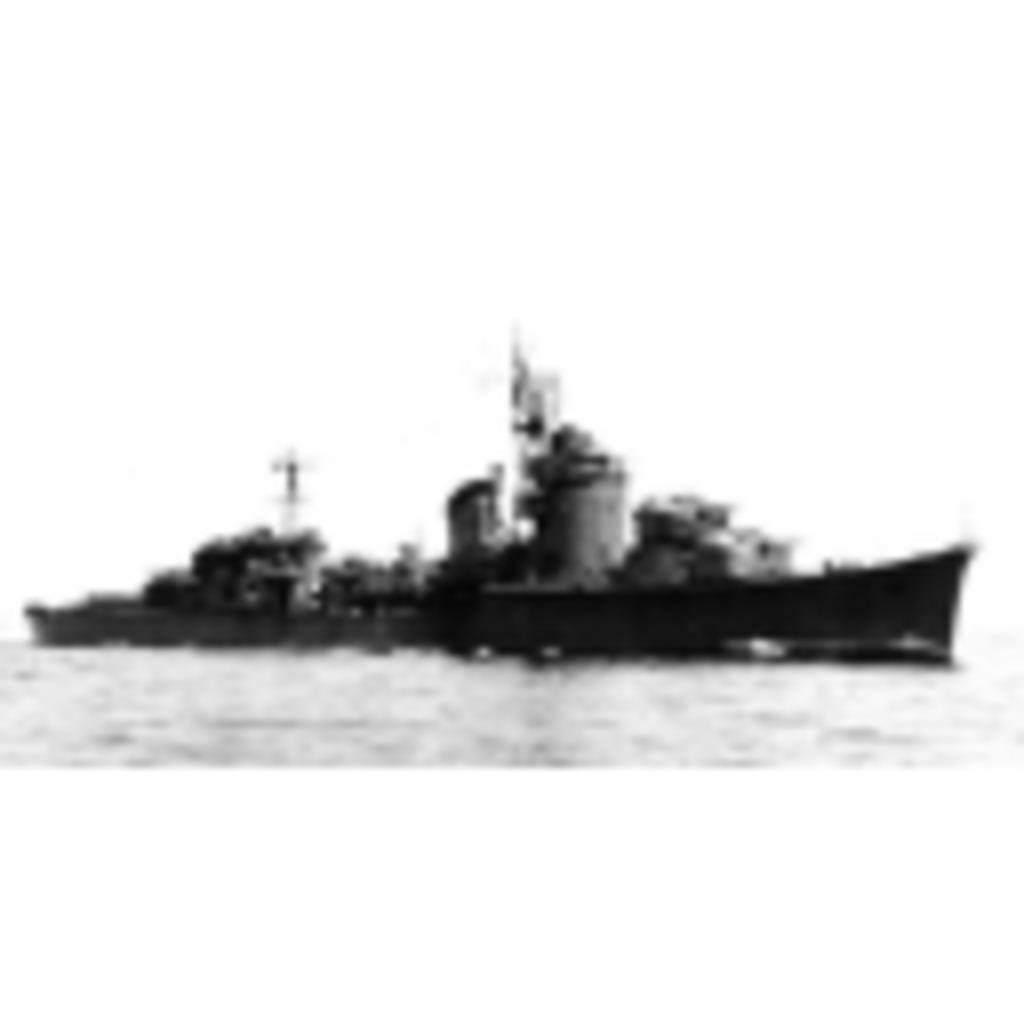 駆逐艦 冬月 (居住区)