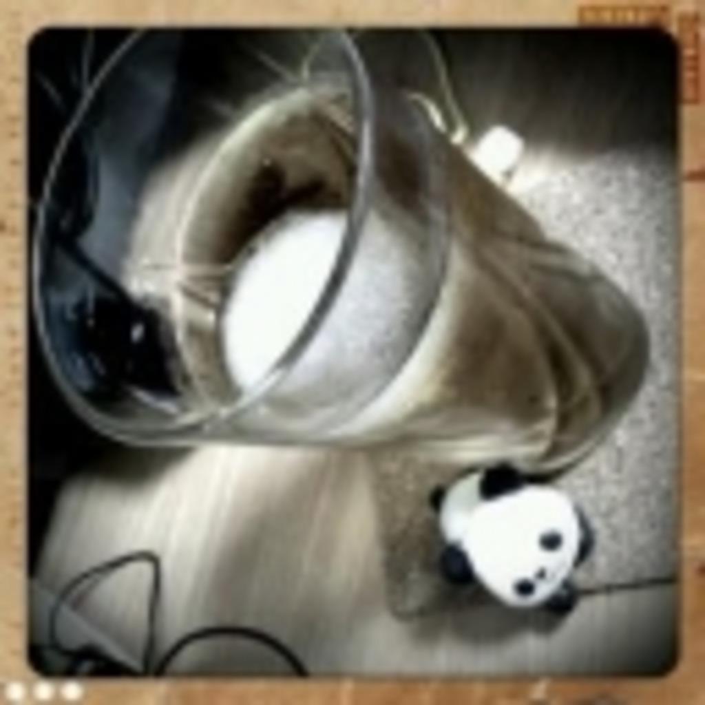 笹原さんちの麦茶。