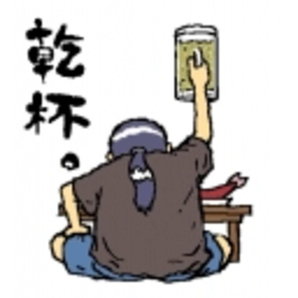 居酒屋で、一人寂しく手酌酒