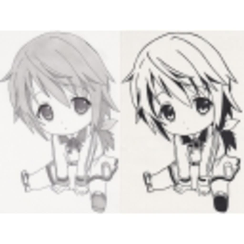p【天然果汁120%の切り絵&ステッカー】q・ω・天)