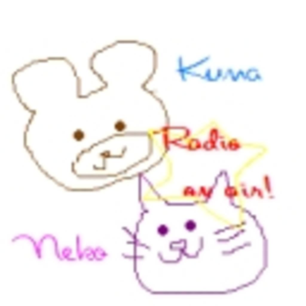 愛知の猫と福島の熊の雑談放送★