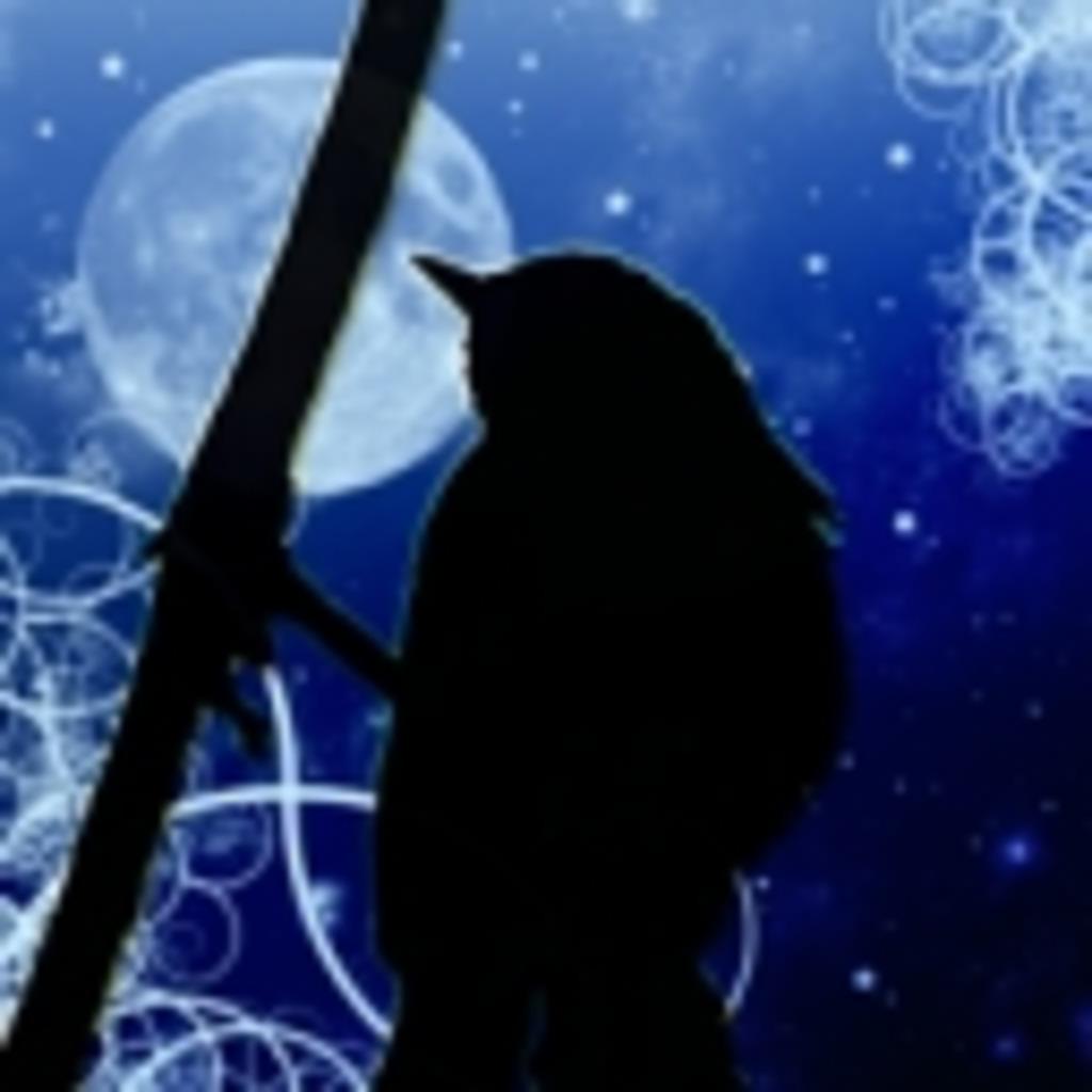 鶯の啼く月影