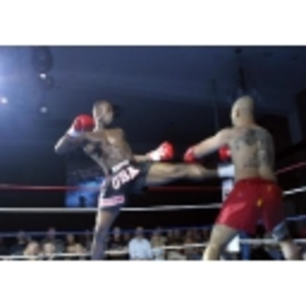 【脚・拳】キックボクシング【肘・膝】