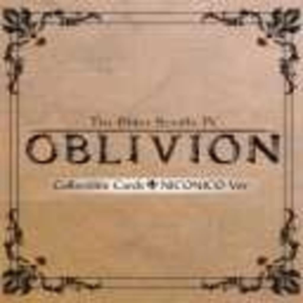 Oblivion オリジナルトレカMOD企画