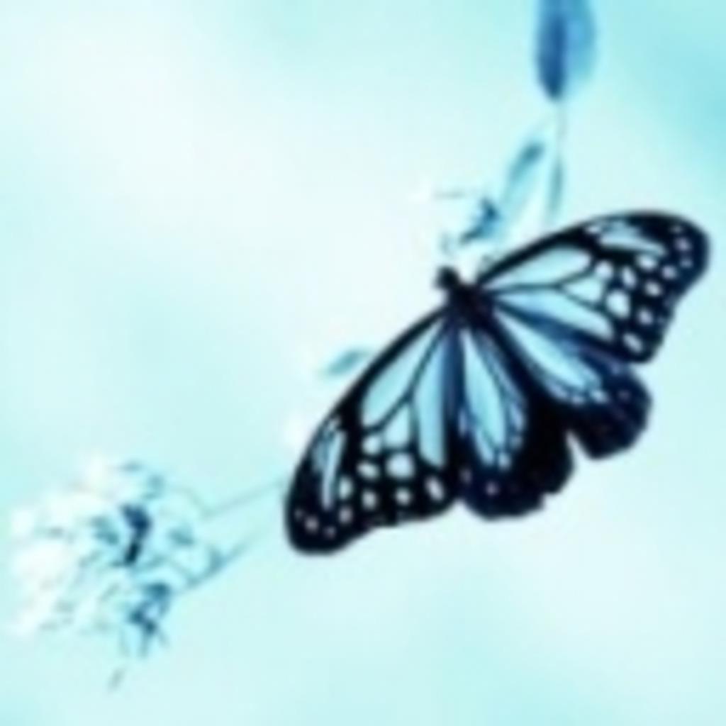 melancholic butterfly