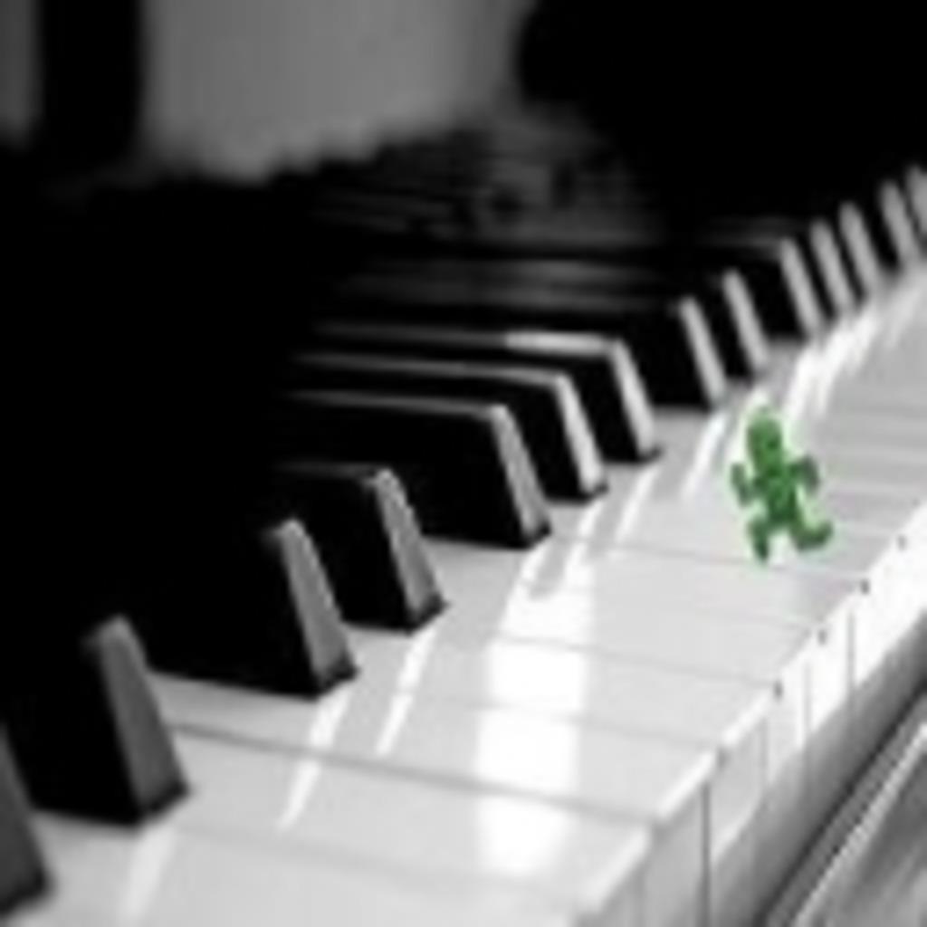 マイペースにピアノ練習