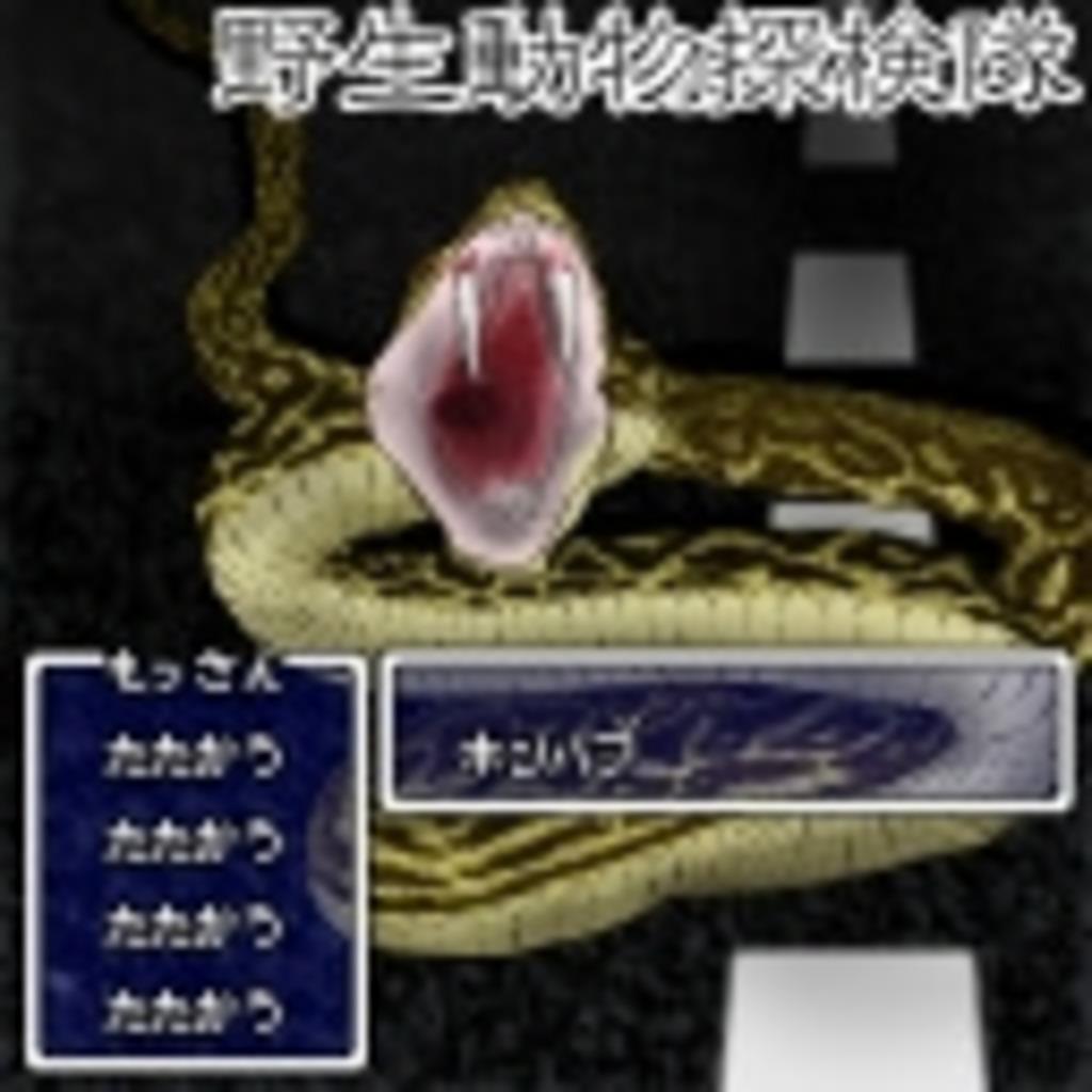 野生動物探検隊【やどけん!】