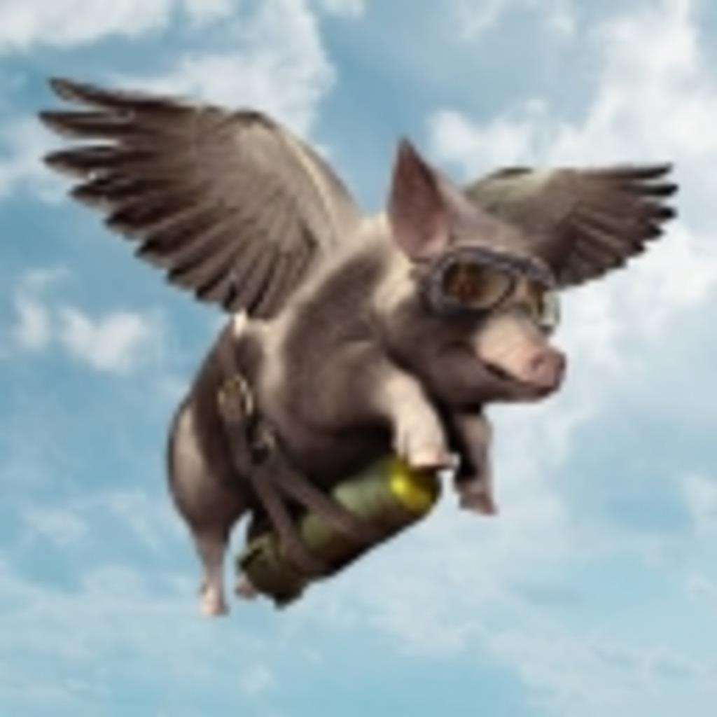 空飛ぶ豚になりたい