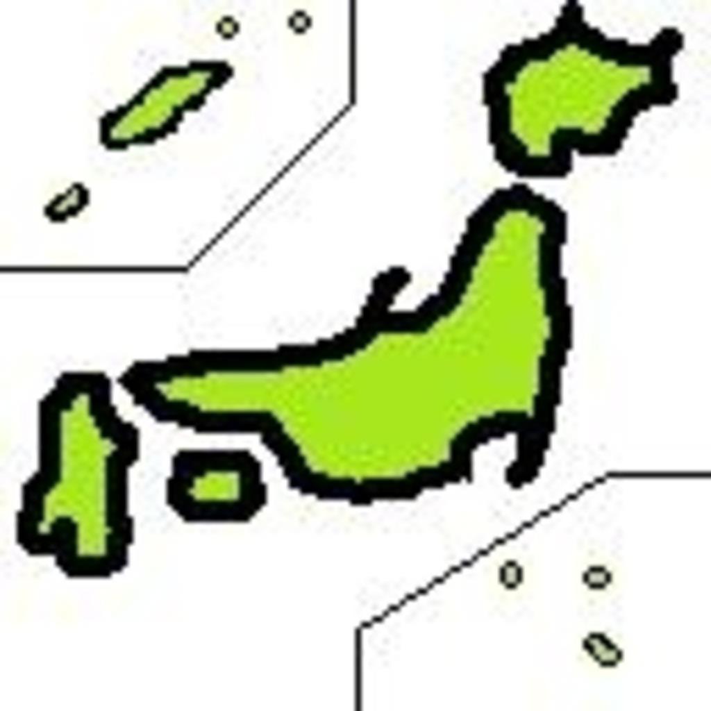 アイネクライネ日本地図