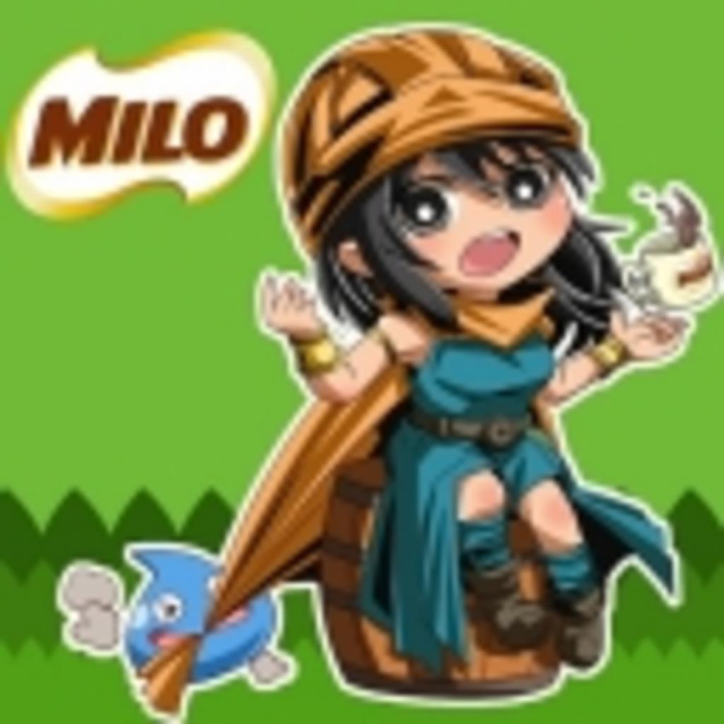 生放送もがんばってMILO!