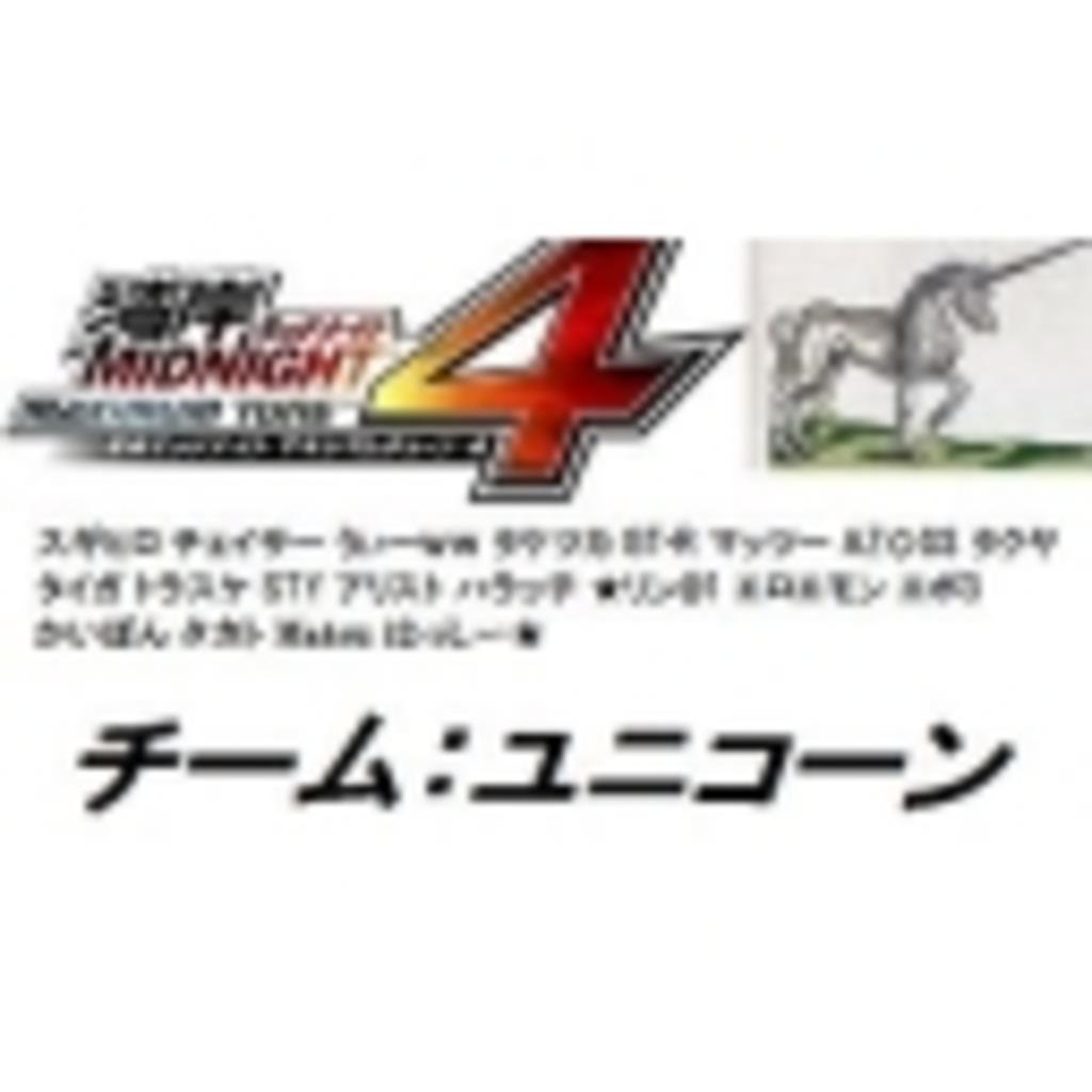 【湾岸ミッドナイト4】チームユニコーンニコ動支部