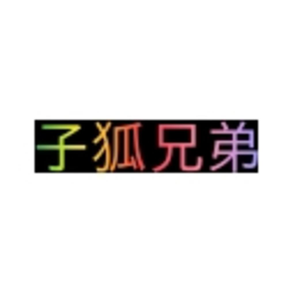子狐兄弟の実況動画館