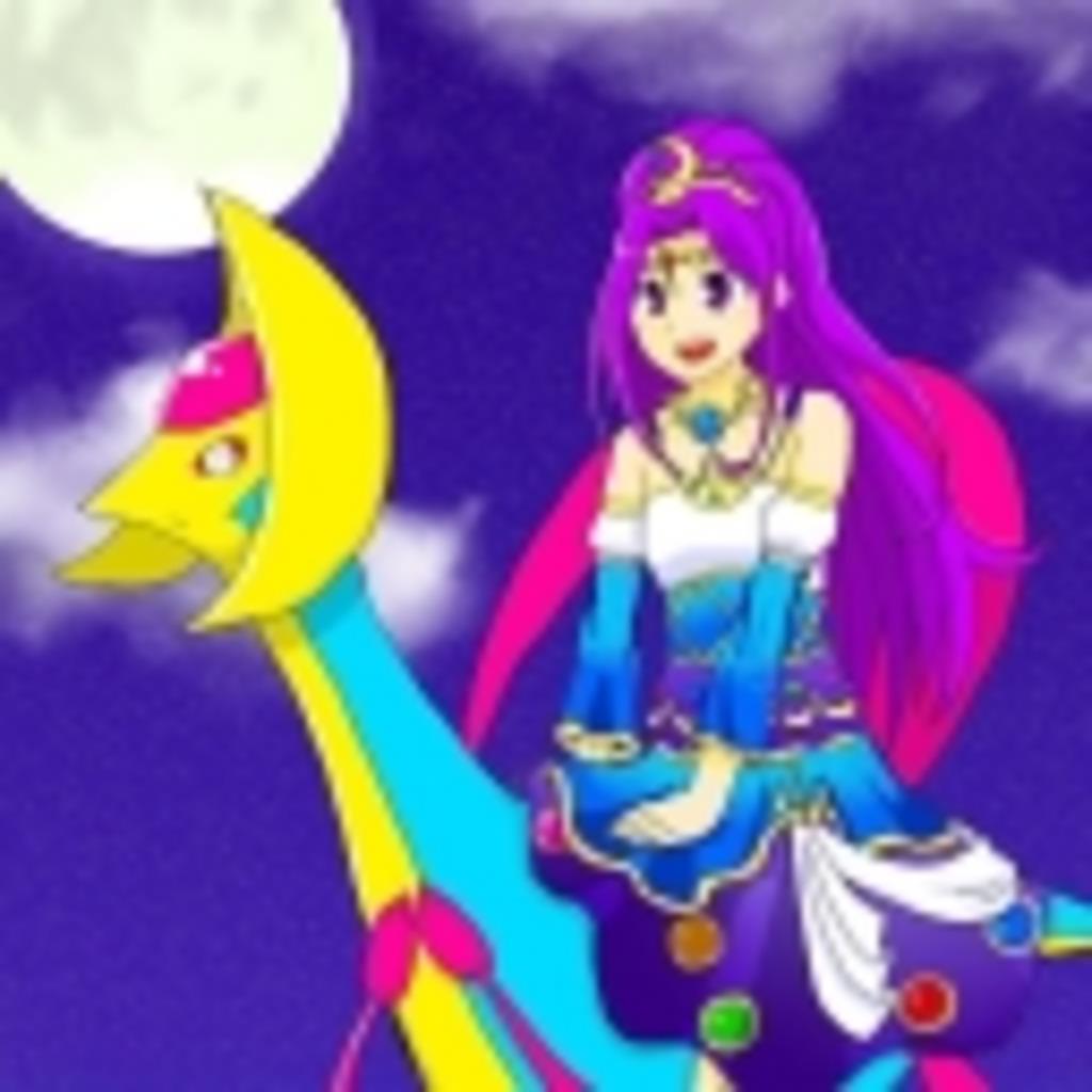 お月さまとお団子で月光浴