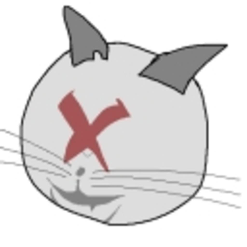 ポーランドボールになった猫