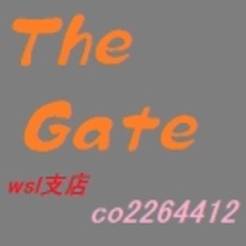 GMアキ作成オリジナルTRPG【The Gate】GMwsl支店