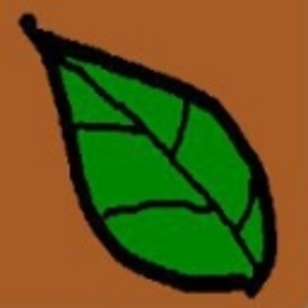 葉っぱをかける