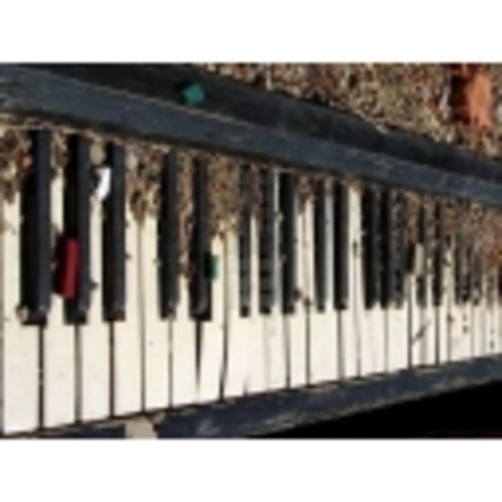 酒でも飲みながらピアノを練習しる