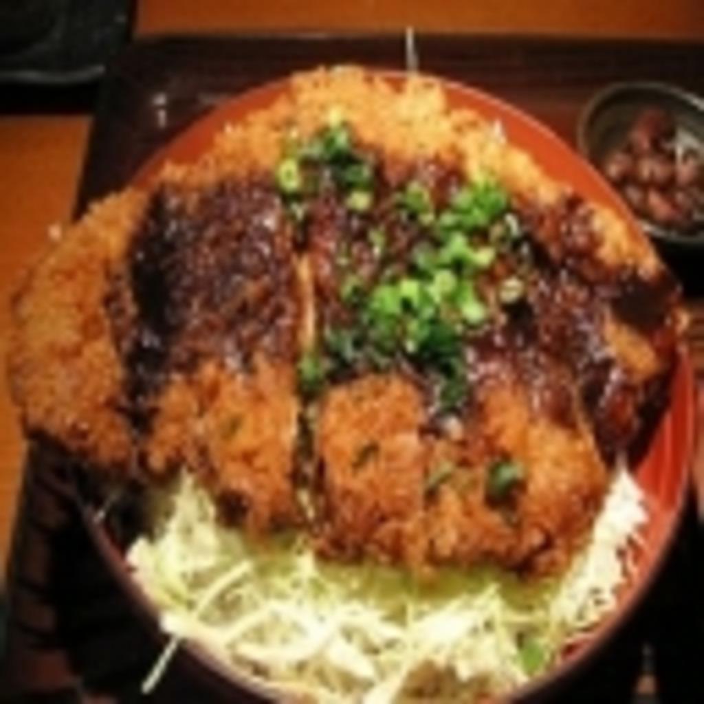 大味噌カツ丼