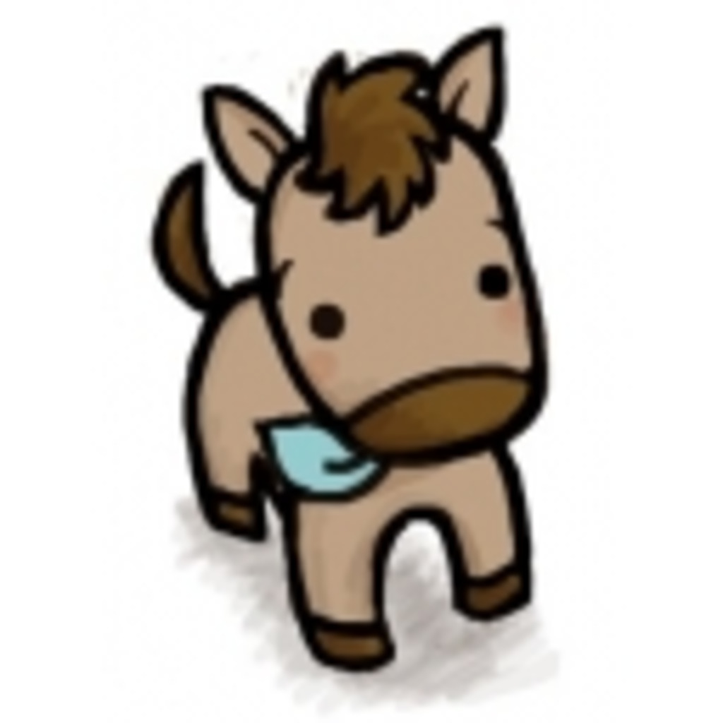 気まぐれな馬のゲーム放送