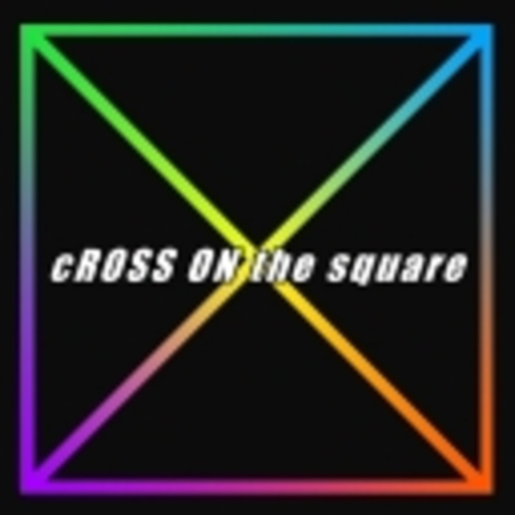 cROSS ON the square