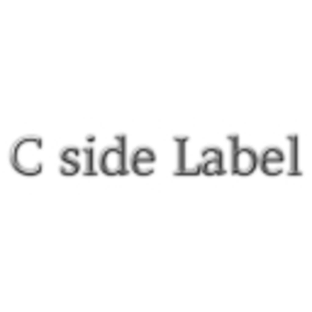 C side Label