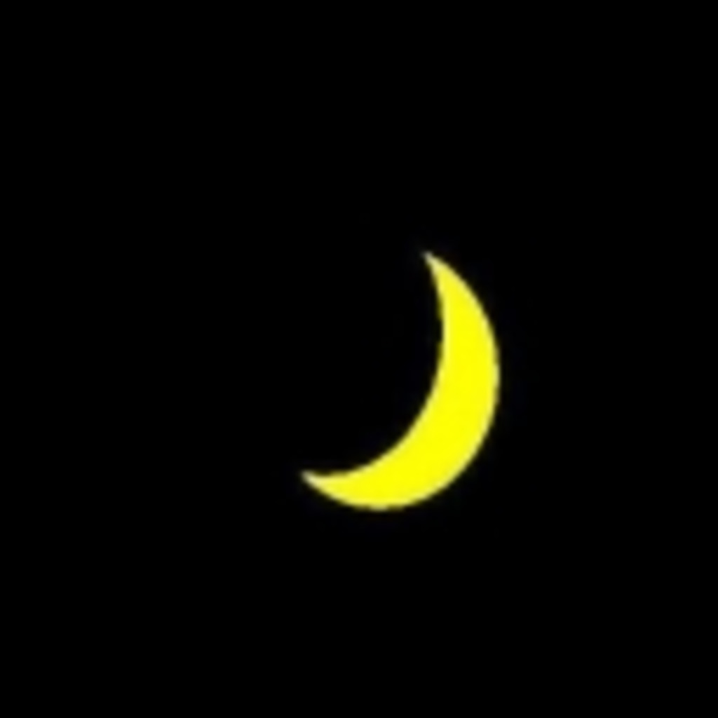月を静かに眺めよう