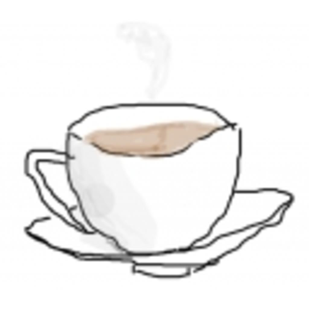 コーヒーカップの底
