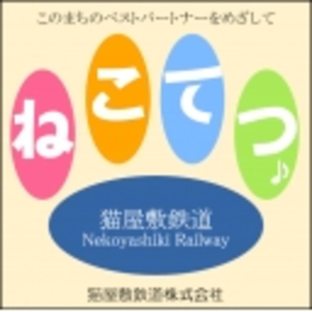 猫屋敷鉄道の作業スペース(仮設)