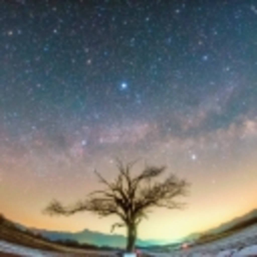 よだかの星瞬く空のもと