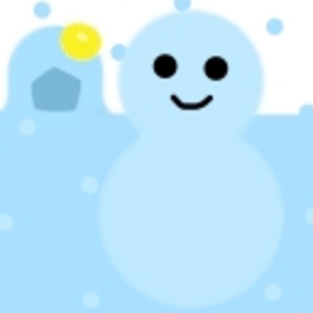 きくの雪あそび