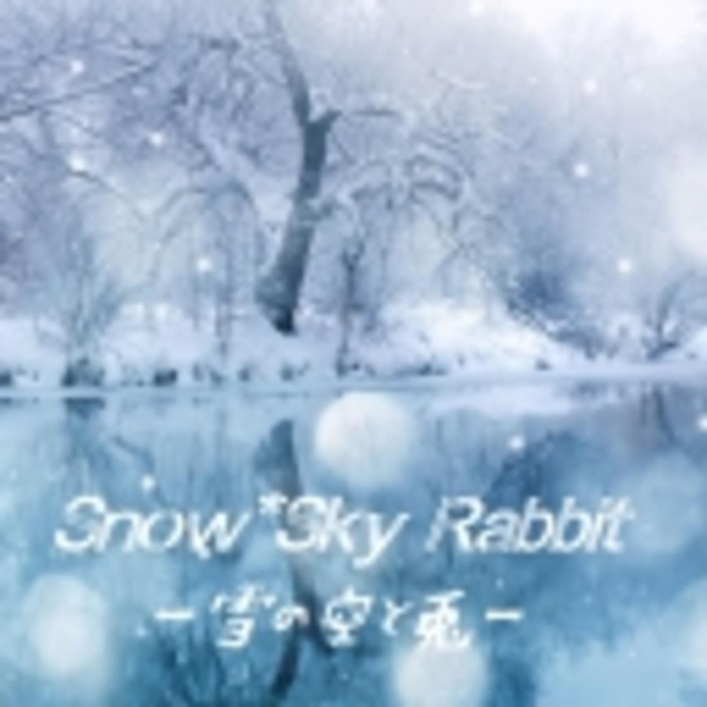 Snow*Sky Rabbit ─雪の空と兎─