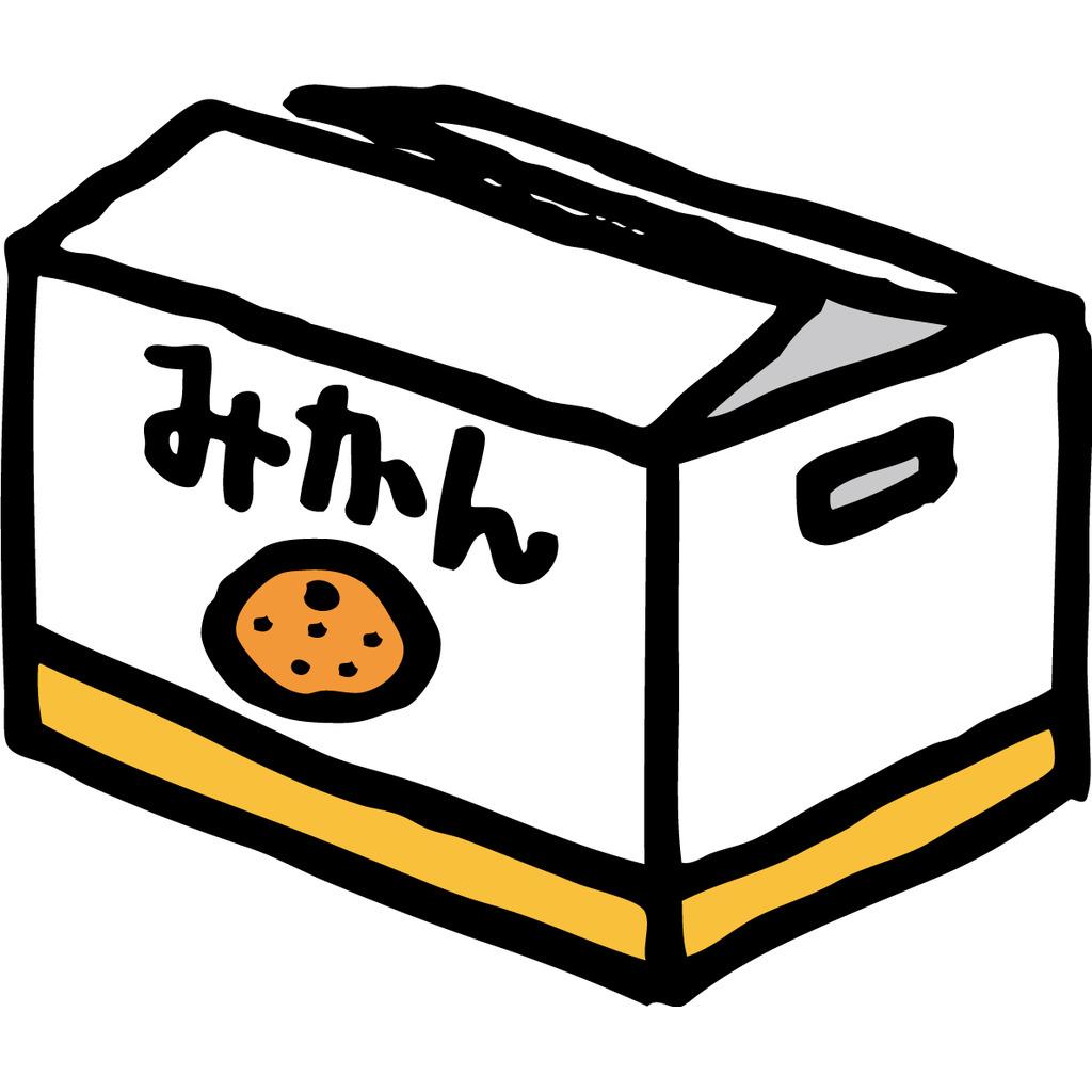 みかんの箱の中