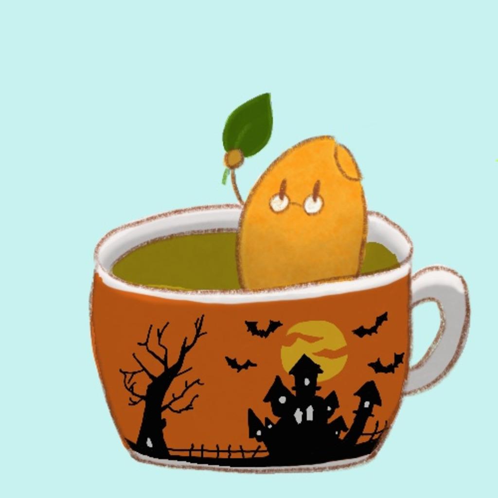 玄米茶飲みながらゲーム