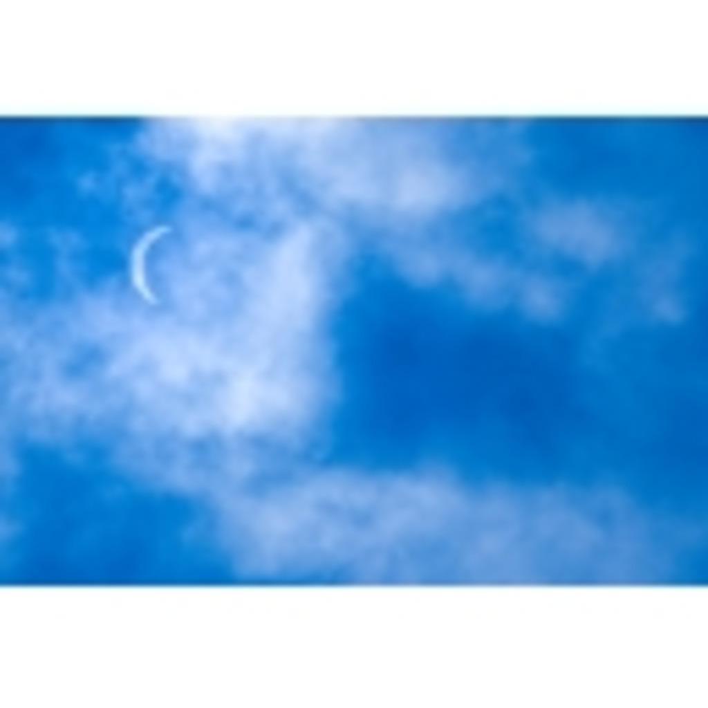 月の青空月の夜の世界