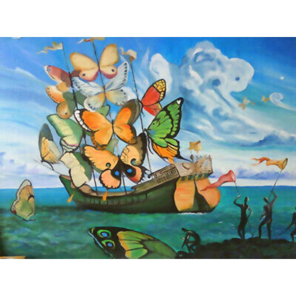 QE.さんの蝶船