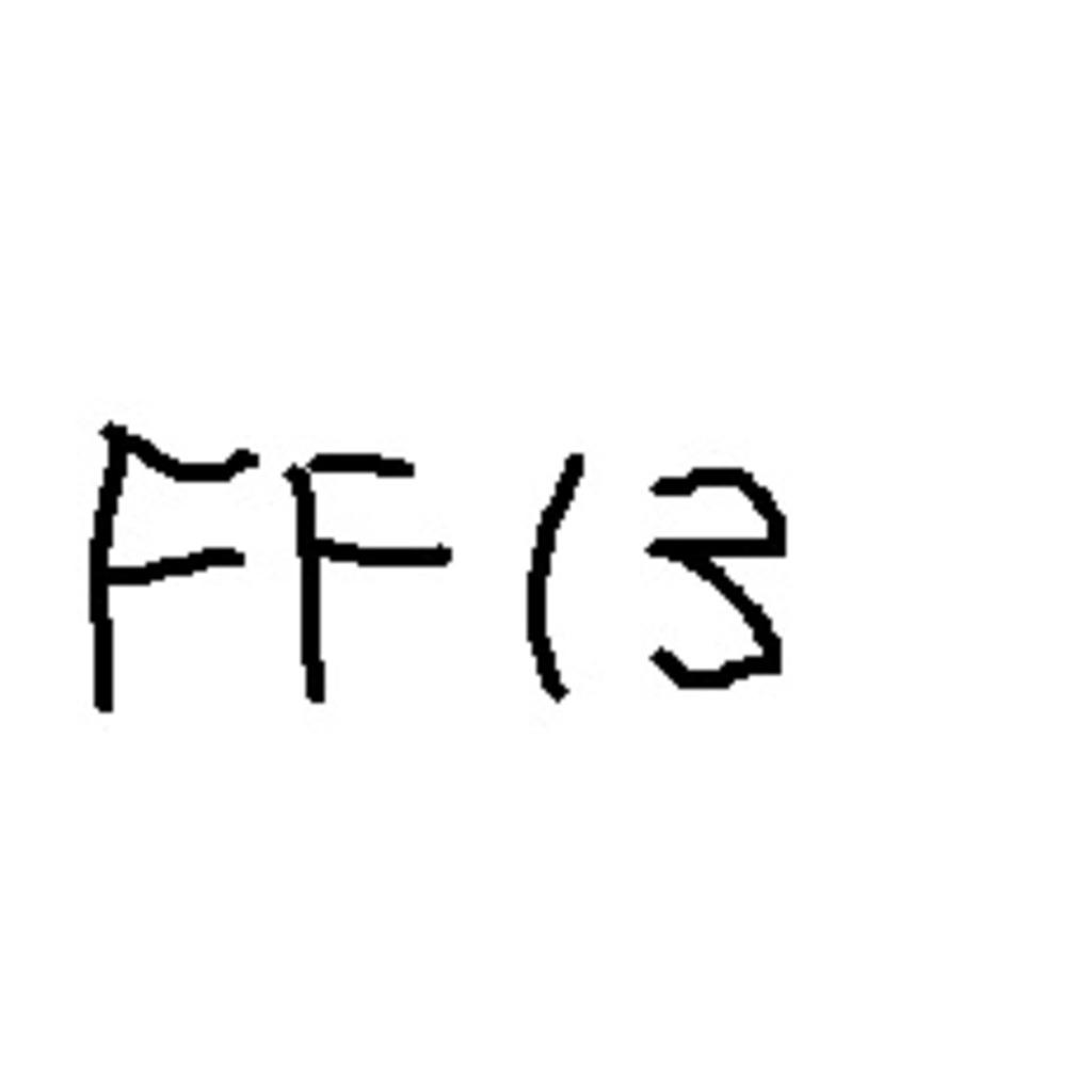 FF13 RTA