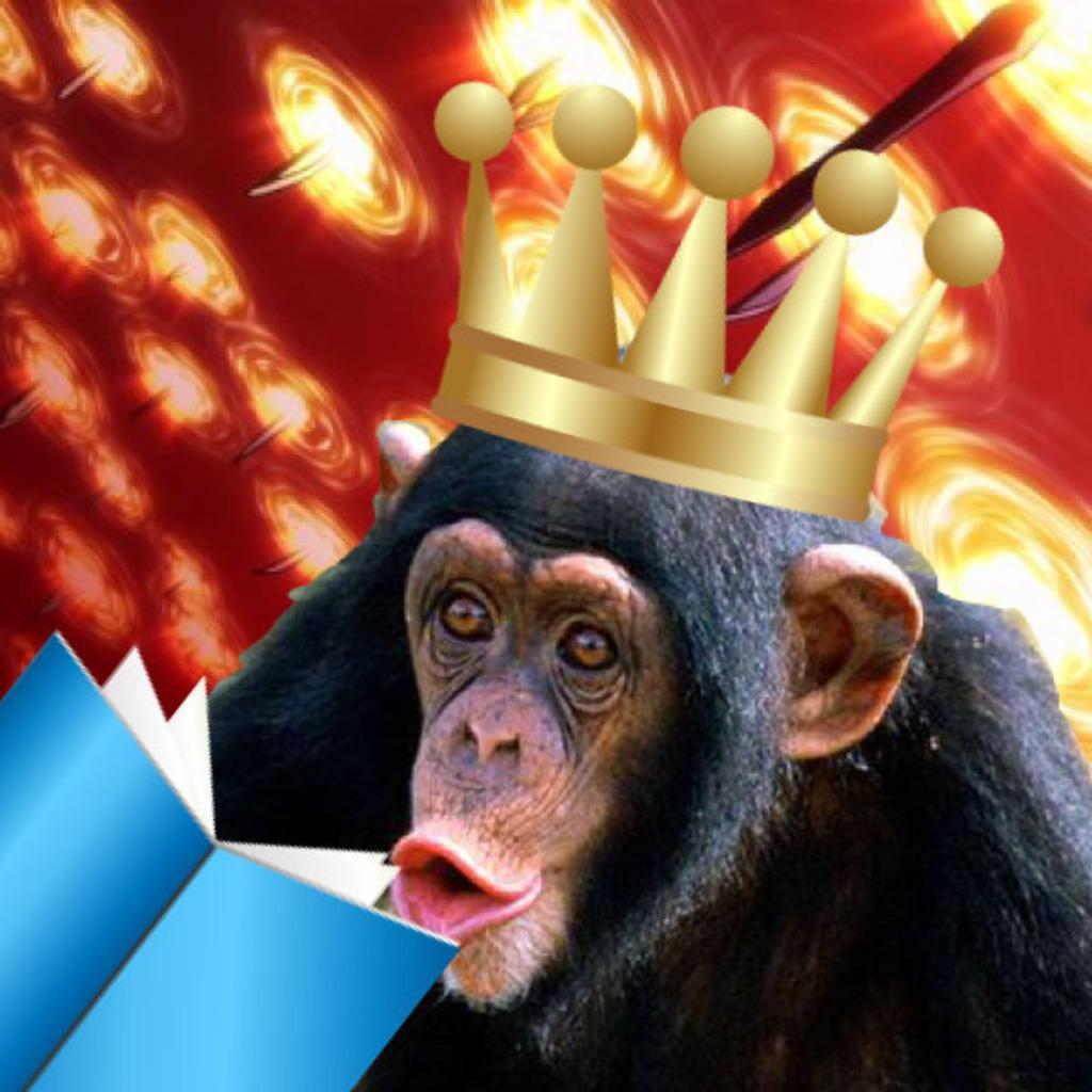 チンパン王とゲームできるところ