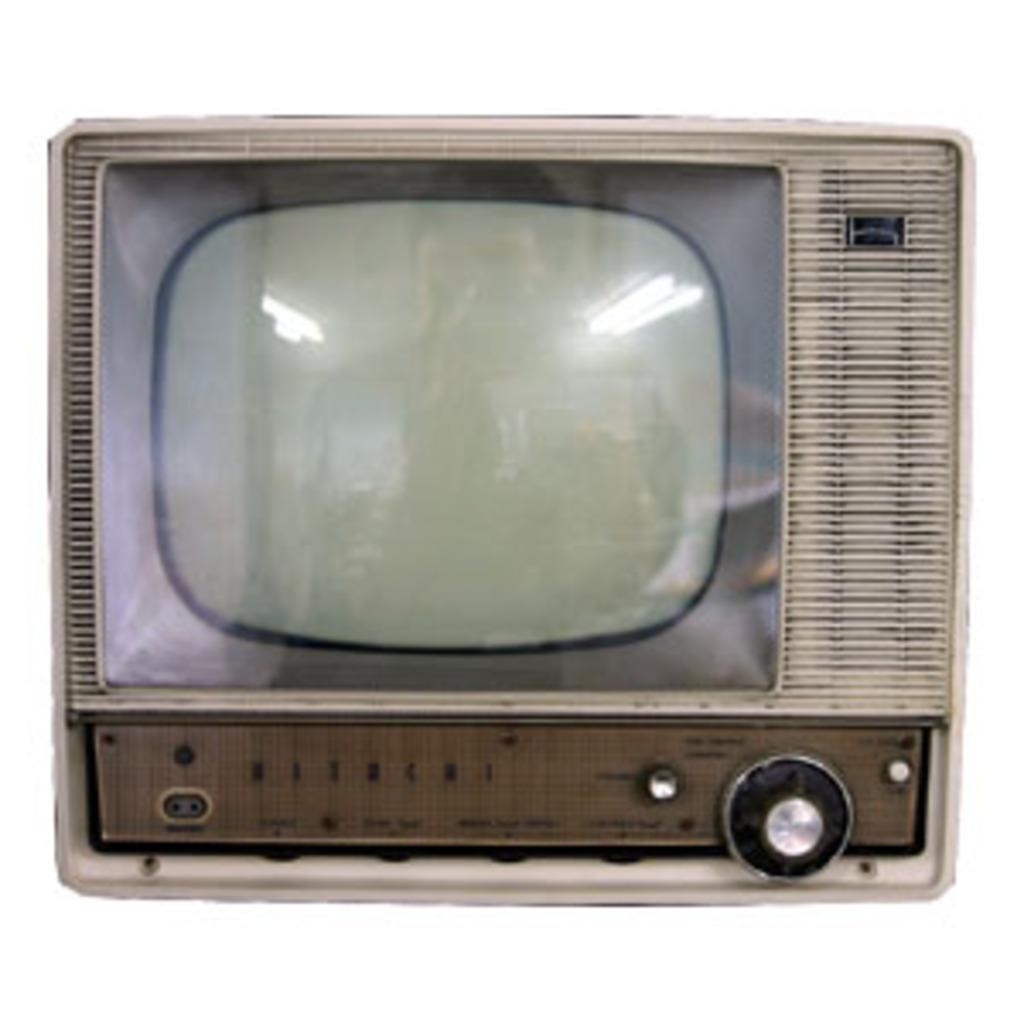 むかしのテレビ