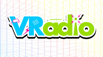 『VRadio〜インサイドちゃんの番組〜 #1』のサムネイルの背景