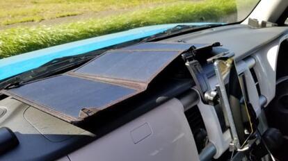 折りたためるソーラーパネル