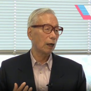 元新党さきがけ代表の武村正義氏...