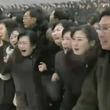金総書記の告別式 朝鮮中央テレビは号泣する人々の姿を伝える